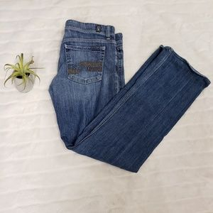 7 for all mankind flynt bootcut jeans size 30